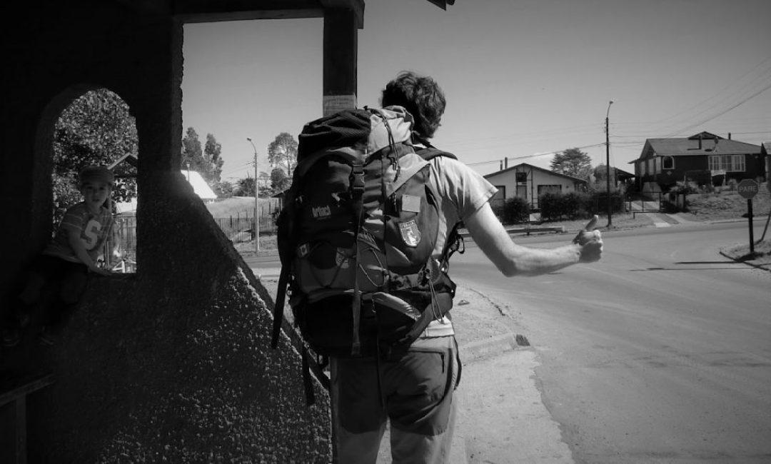 De camino a Tenaún ligeros de equipaje (Chile, 2013)