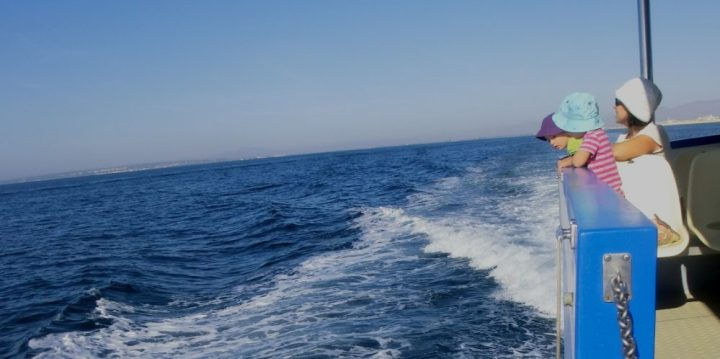 Navegando hacia la Isla de Tabarca