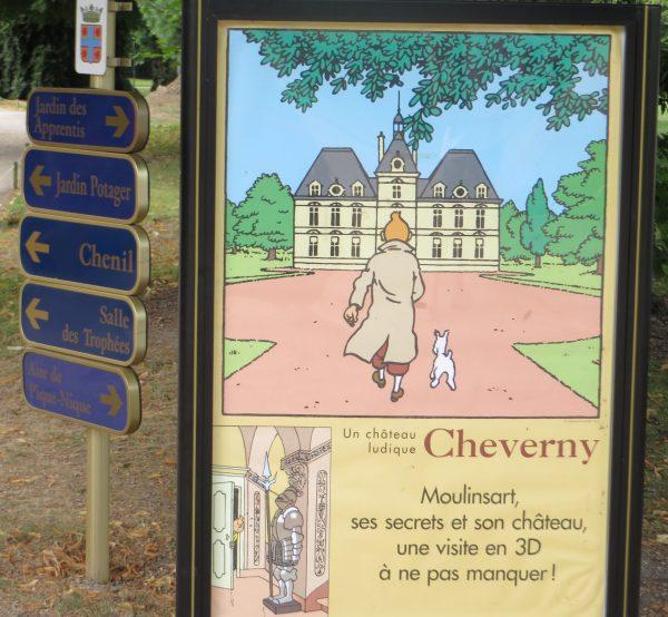 Castillo de Cheverny, valle del Loira (Francia, 2016)