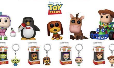 Funko anuncia Pops inspirados em Toy Story