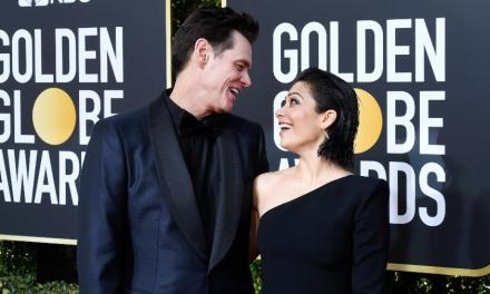 Jim Carrey assume namoro com Ginger Gonzaga