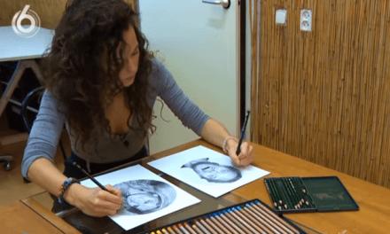 Artista ambidestra desenha retratos hiper-realistas ao mesmo tempo; Confira!