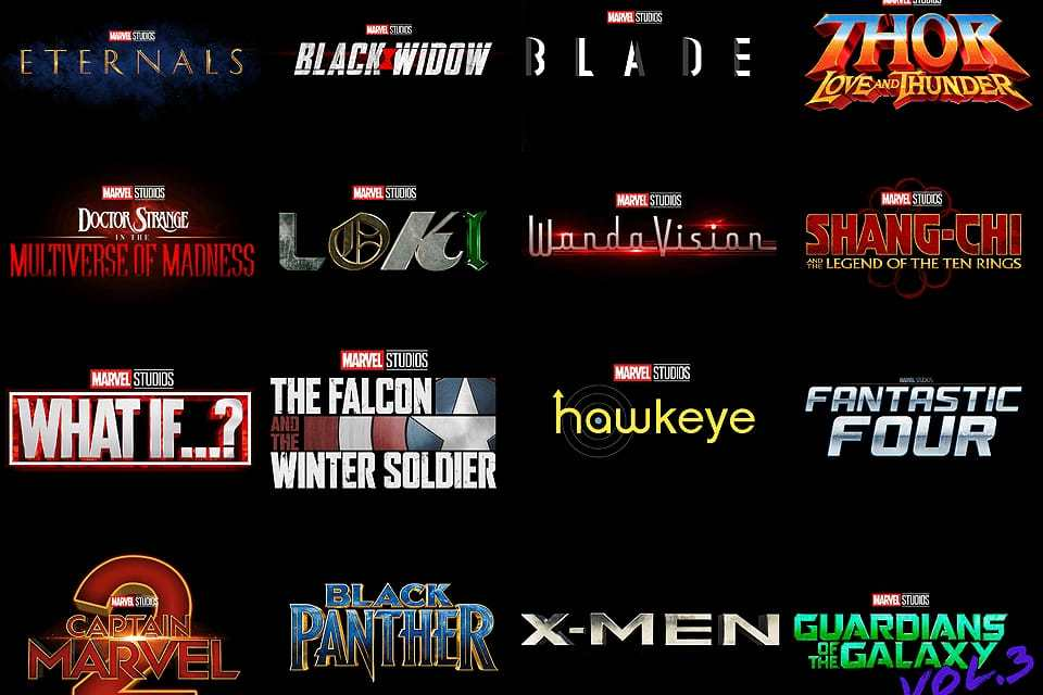 Marvel confirma todos os filmes da Fase 4 do MCU incluindo Viúva Negra e Doutor Estranho 2; Confira