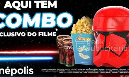Cinépolis divulga combo para Star Wars: A Ascensão Skywalker