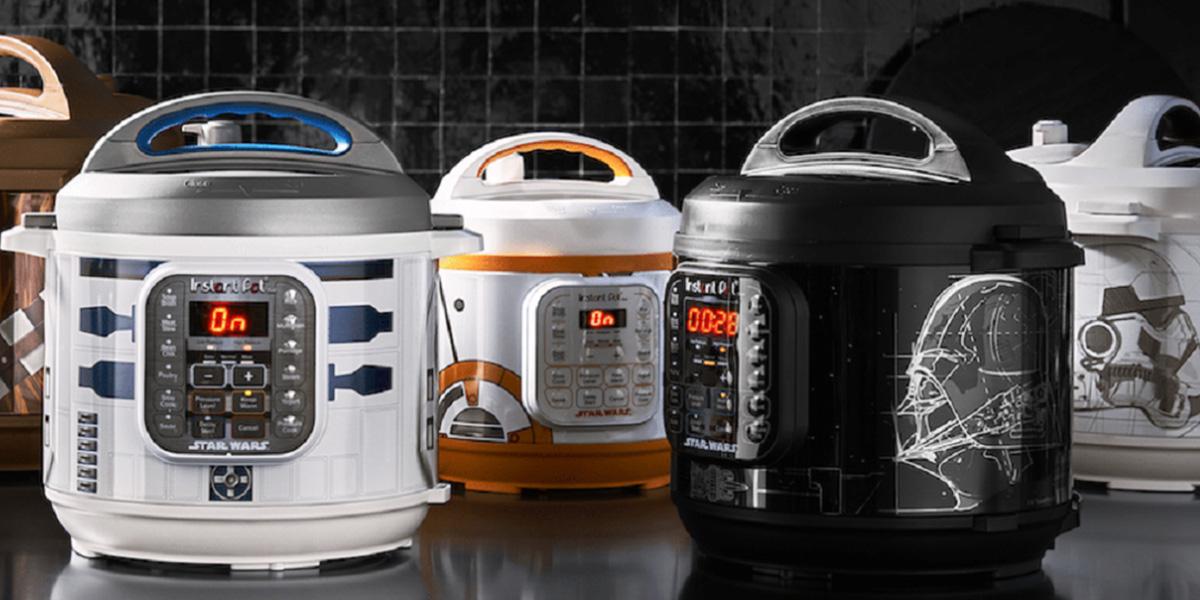 Star Wars recebe linha de panelas elétricas de Darth Vader a R2-D2
