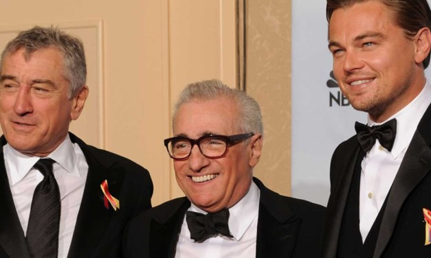 Robert De Niro e Leonardo DiCaprio estarão no próximo filme de Martin Scorsese