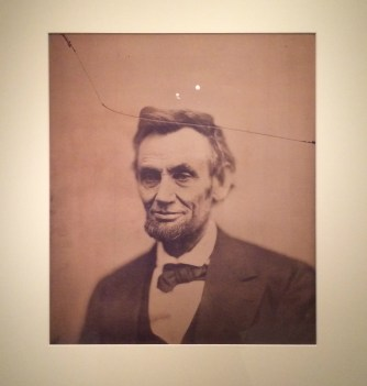 Abraham Lincoln, National Portrait Gallery, Washington DC.