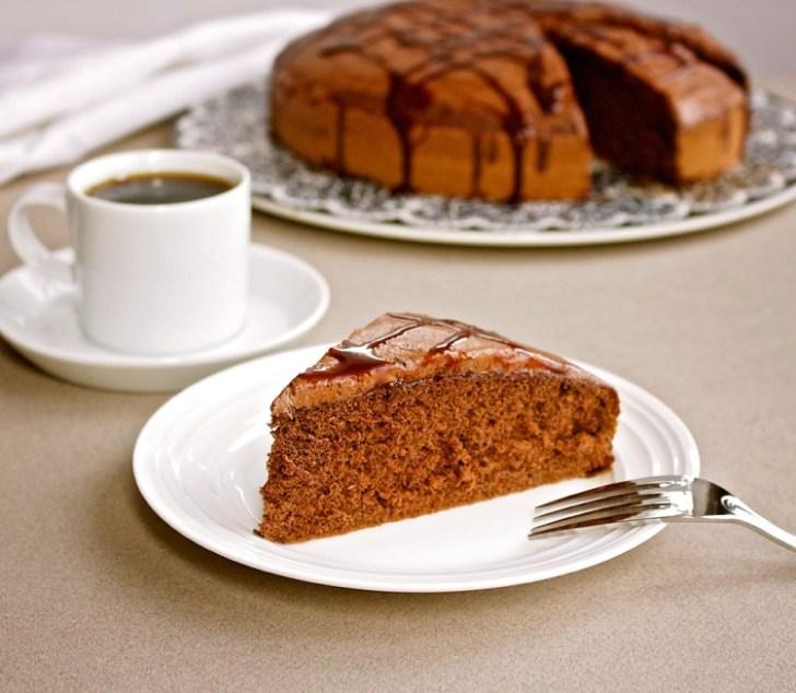 Chocolate Einkorn Cake
