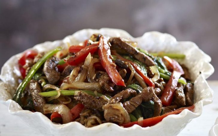 Beef and Black Bean Stir Fry - healthy recipes