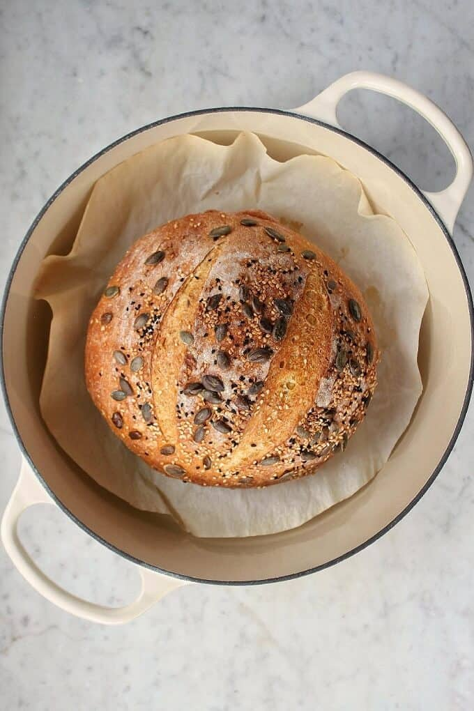 No-Knead Pumpkin Bread