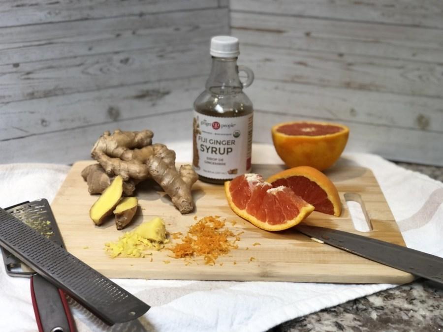 Quick Orange-Ginger Drink