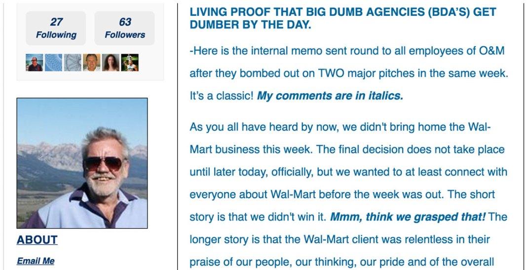 Big Dumb Ass Ad Agencies, by George Parker