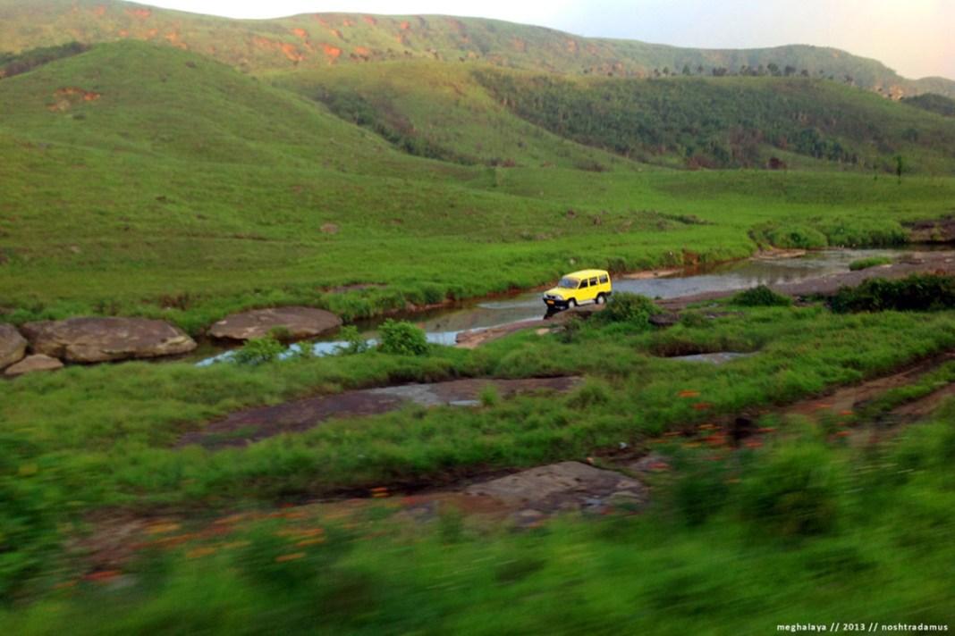 Nature's Carwash, en route to Cherrapunjee