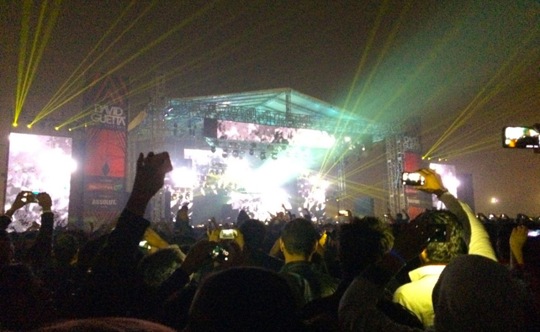 I was very impressed by the kids at the David Guetta Concert in Delhi