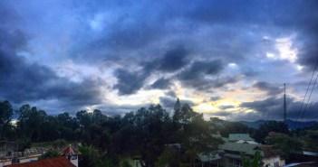 Classic Imphal skyline