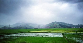 Site of proposed National Sports University in Manipur