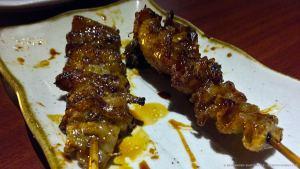 Skewered Chicken Skin, at Kuuraku