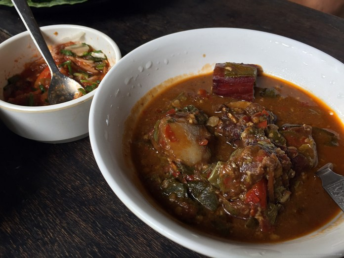 Delicious Pork Curry, at Chapru