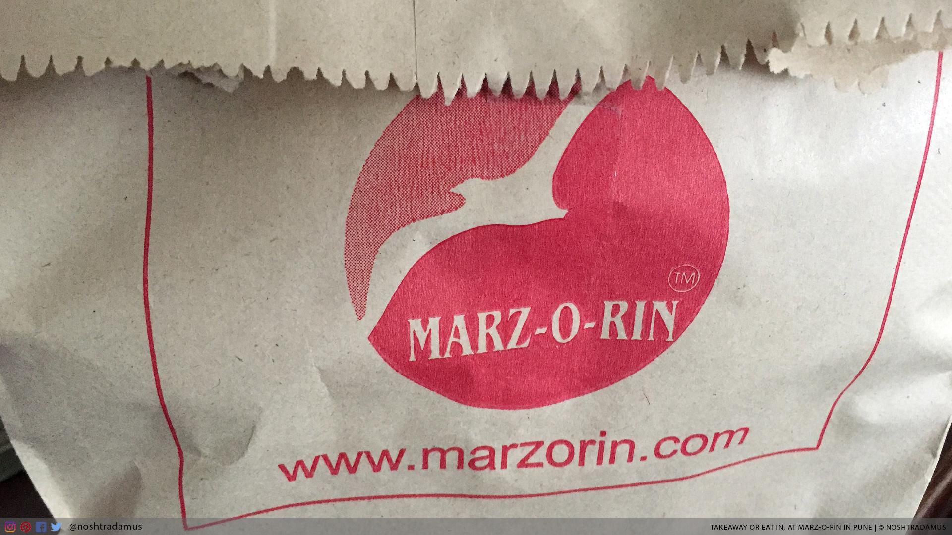 Takeaway Bag, at Marz-O-Rin in Pune