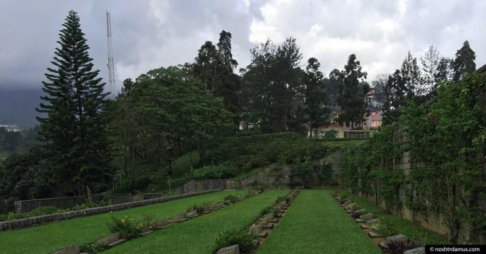 Kohima War Cemetary hill side view