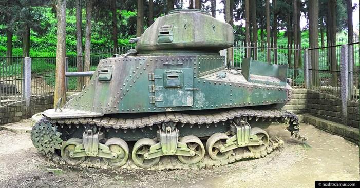 World War II M3 Grant Tank on Officers Hill Kohima 03