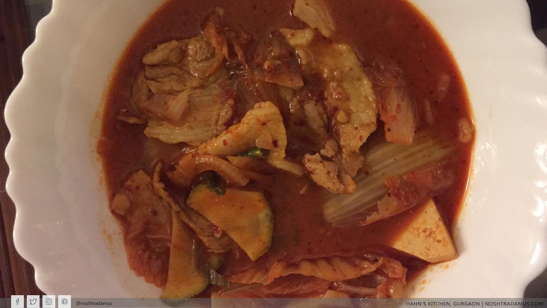 Mystery Dish 2 at Hahn's Kitchen, Gurgaon