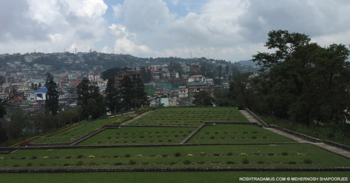 Kohima War Cemetary – 1400 souls from World War II are remembered here