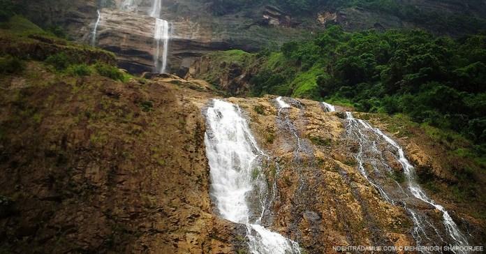 Waterfalls in the Sohra area of Meghalaya