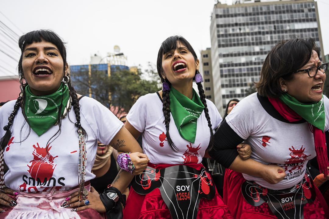 Manifestación en Lima