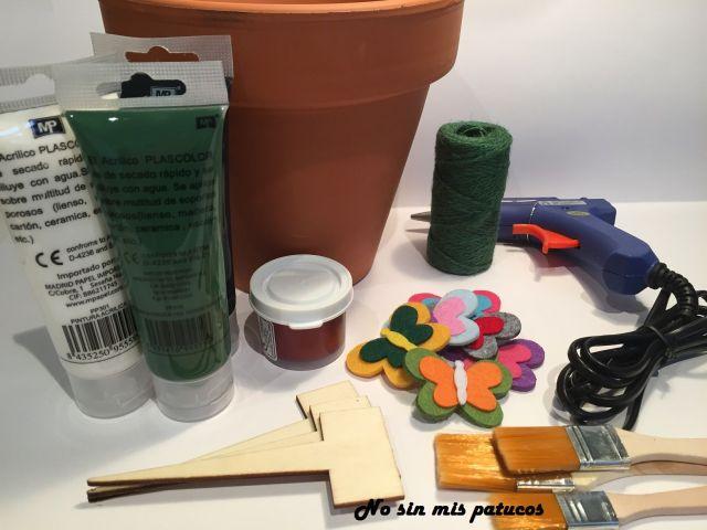 Materiales utilizados en el #retomes abril.