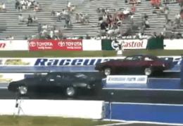 2 Camaro's Racing PINKS