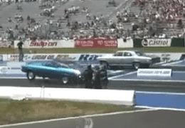 Chevy vs Chevy at this race