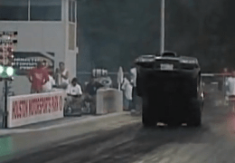 Car accidents at the drag strip