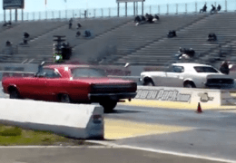 Mopar vs Ford Time Trials