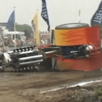 Tractor Explosion