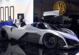5000 Horse Power Super car from Dubai with 348 MPH top speed