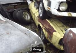 Japan Junk yard