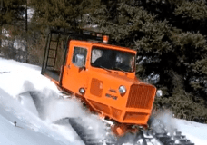 Tucker Snow Cat in Action