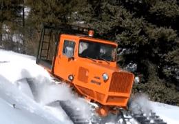 Tucker Snow Cat Deep Snow