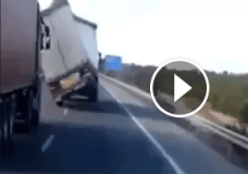 High Winds and a truck