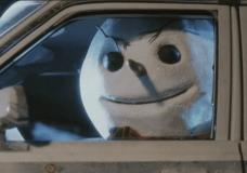 Snowman Driving