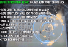 Manley Pistons and Rod