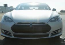 Tesla S P85D front