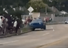 Hitting the curb