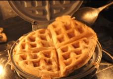 Waffle scratch made