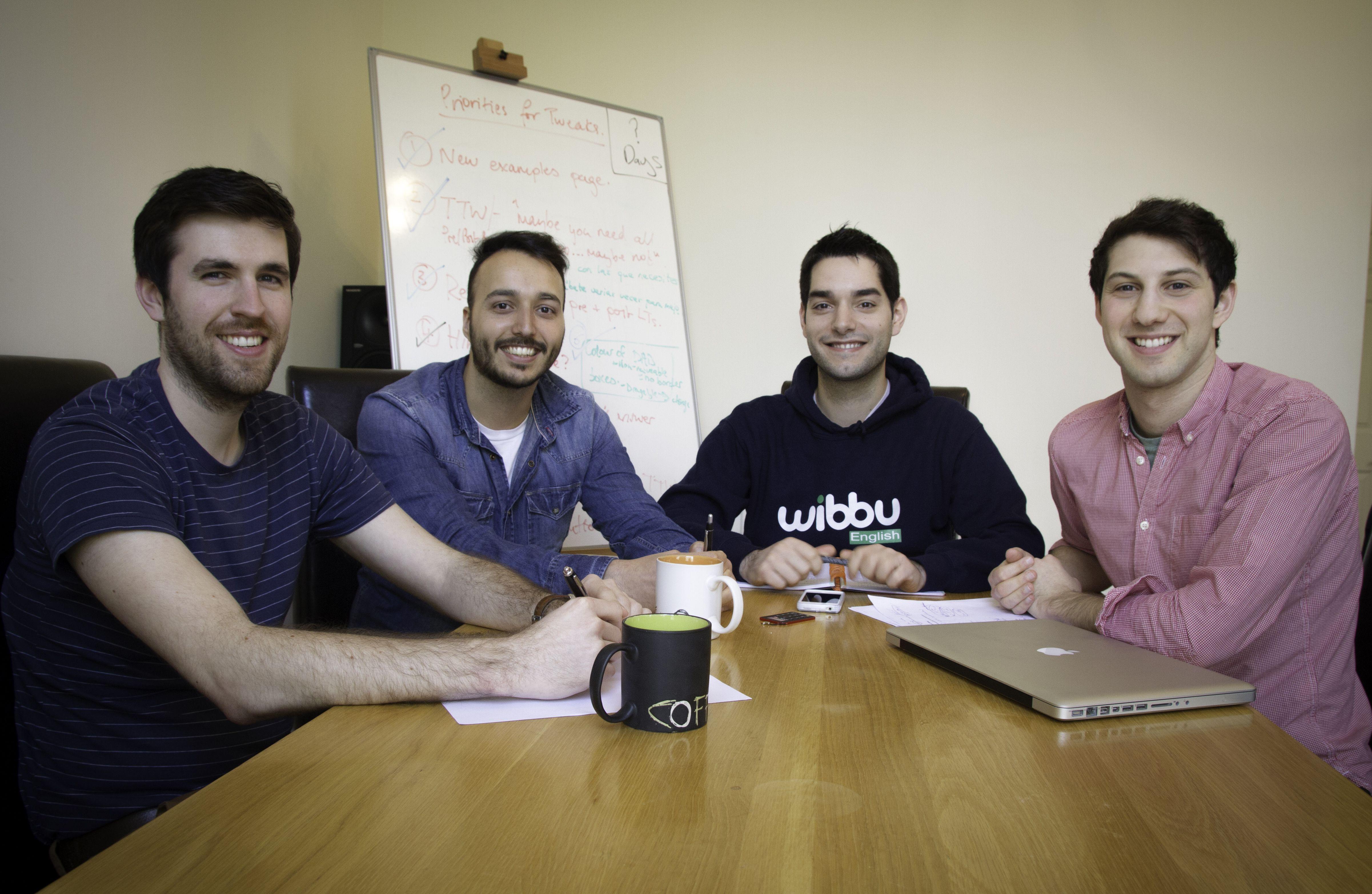 Los co-fundadores de Wibbu