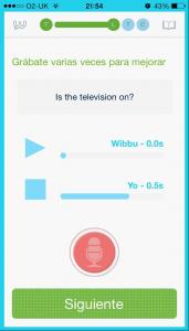 app-Mejora tu pronunciacion con wibbu