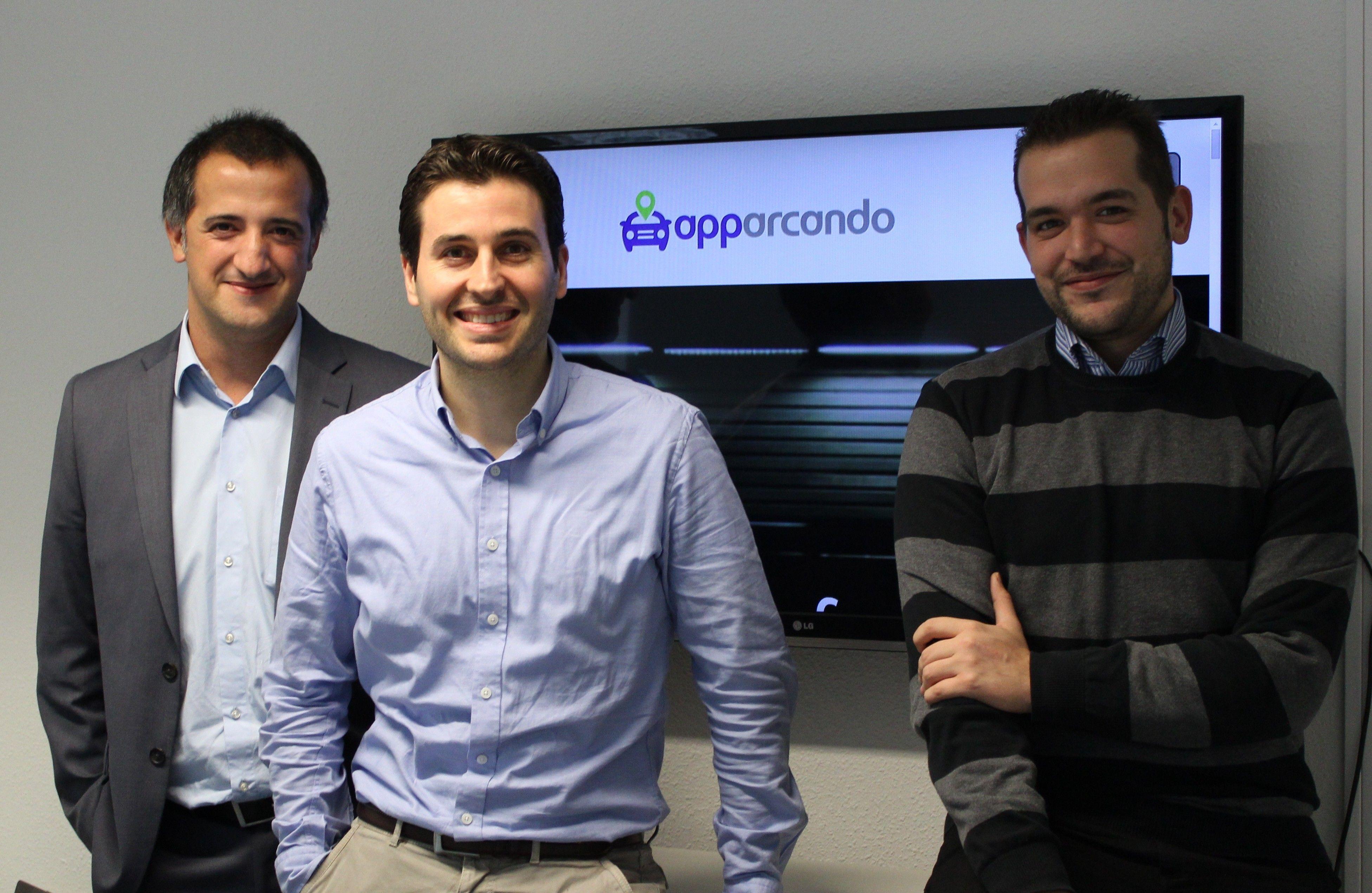Fotografía del equipo de Apparcando
