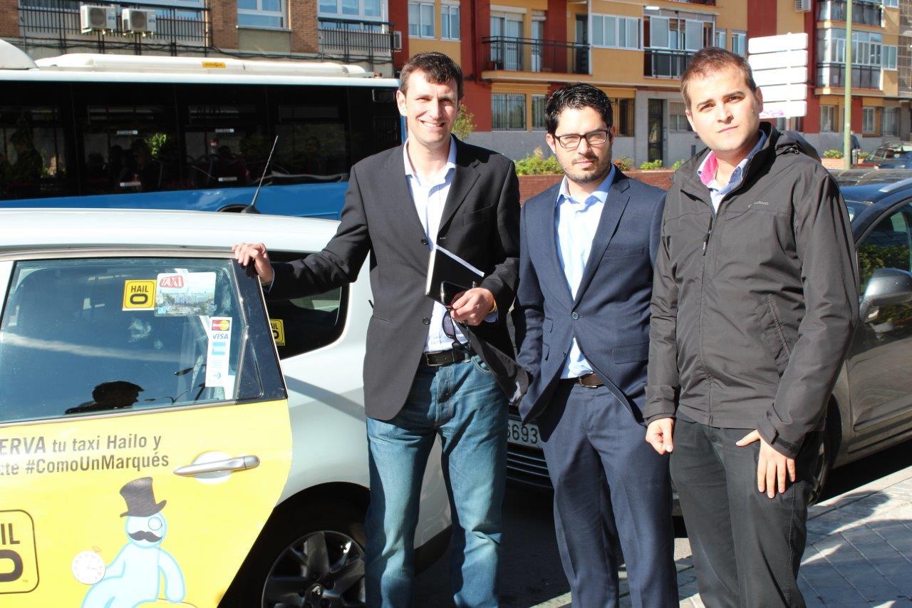 Imagen Taxi Pitch Madrid Y