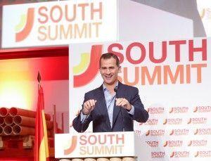 Su Majestad el Rey de España el día de la clausura de South Summit 2015